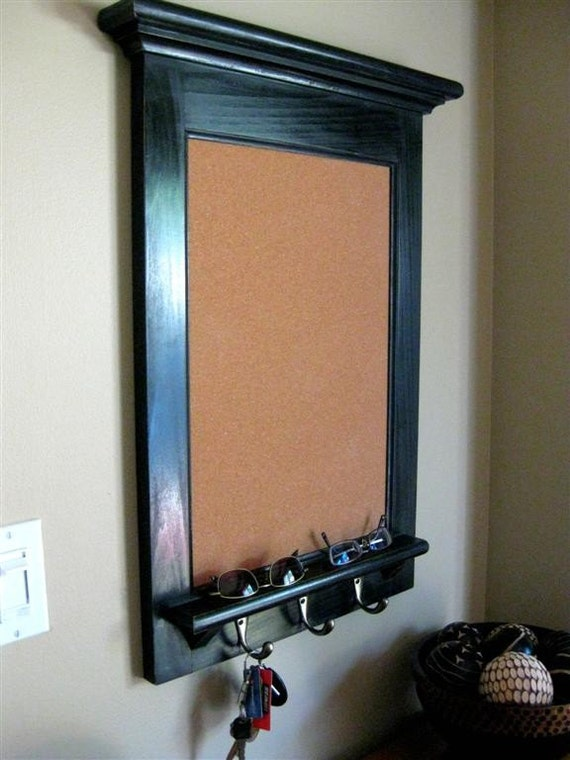Picture Frame Shelf With Hooks