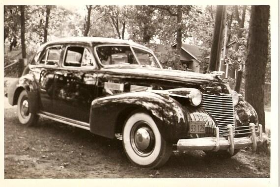 1940 Cadillac, Chevrolet, Vintage Classic Car Photos. Estate Lot. 1910s-40s.