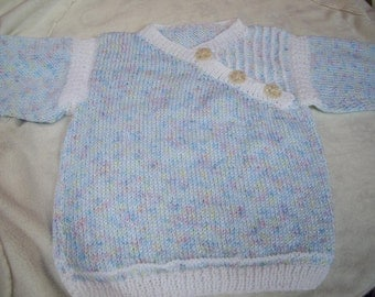 20% OFF Rainbow Blue Baby Sweater Size 12 to 18 Months