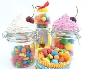 CANDY JAR CUPCAKE