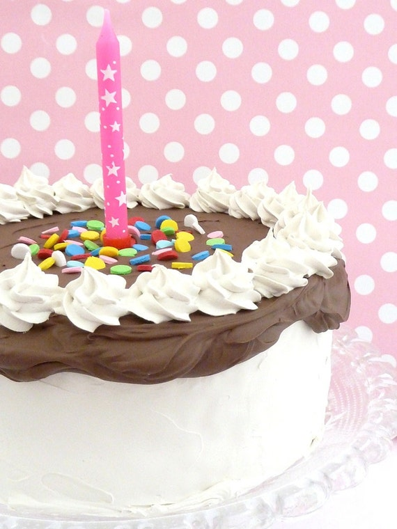 Items Similar To Baby Photo Props Birthday Cake With