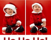 Print-Your-Own Holiday Photo Card - Multiples