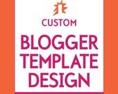 Custom Designed Blog Template (for Blogger)