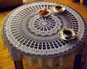 Rings Around The Rosie, Round Tablecloth