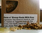 Oats N' Honey Goats Milk Soap