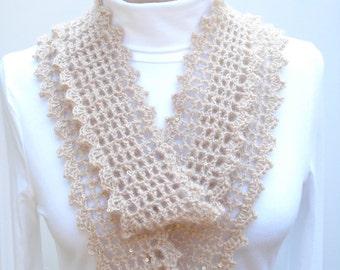 Crochet Pattern PDF - Mesh Mobius - PA-124d