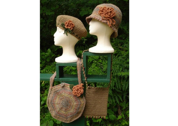 Crochet Pattern PDF - Autumn Accessories to Mix and Match - PA-103