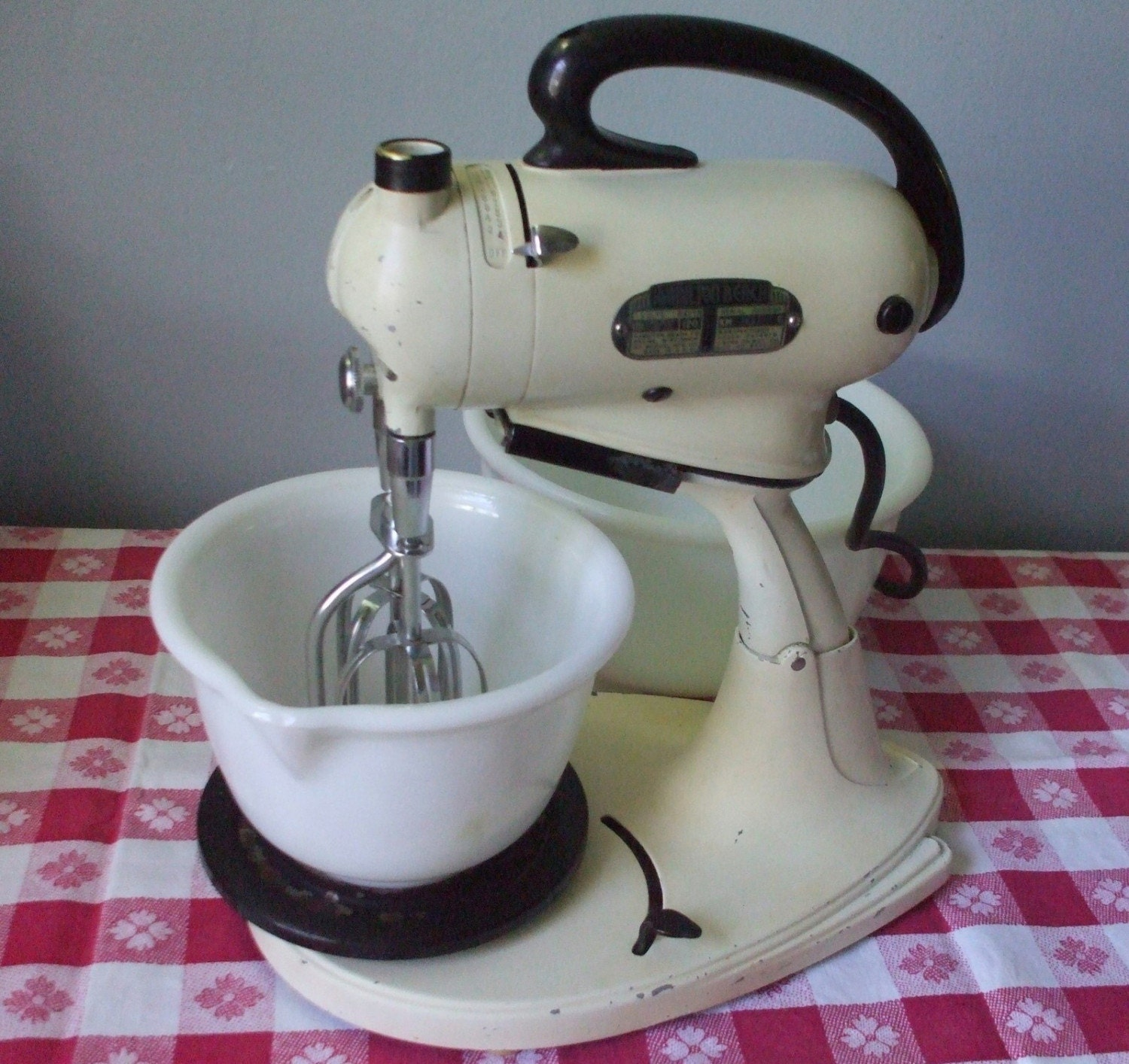 1940 S Hamilton Beach Stand Mixer And Hand Mixer By