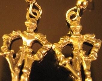 Knight earrings