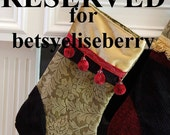 Reserved Listing for \/\/betsyeliseberry\/\/  THANK YOU