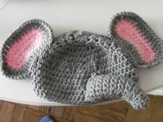 Crochet Elephant Hat Pattern Pdf Crochet Elephant Hat