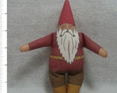 GARDEN GNOME DOLL - GnomePa Elder Male of the Garden, Woodland and Home Variety - Free Shipping Continental United States