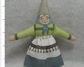 GNOME DOLL TOY - GnomeMa Elder Female - of the Garden, Woodland and Home Variety - Free Shipping Continental United States