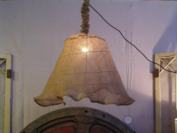 burlap basket chandelier brand new design. Black Bedroom Furniture Sets. Home Design Ideas