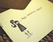 Happy Graduation FINALLY - Sassy Peety Card Collection