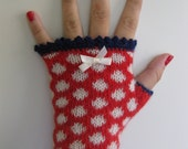 PDF pattern Betsy Fingerless gloves