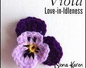 Viola Crochet Pattern PDF