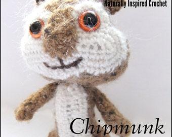 Amigurumi Chipmunk Crochet Pattern PDF