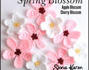 Spring Blossom Crochet Patterns PDF