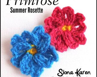 Primrose Crochet Pattern PDF