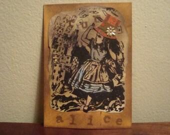 Vintage Style, Alice in Wonderland ACEO