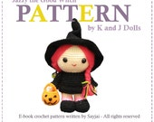 ENGLISH Instructions - Instant Download PDF Crochet Pattern Jazzy the Good Witch