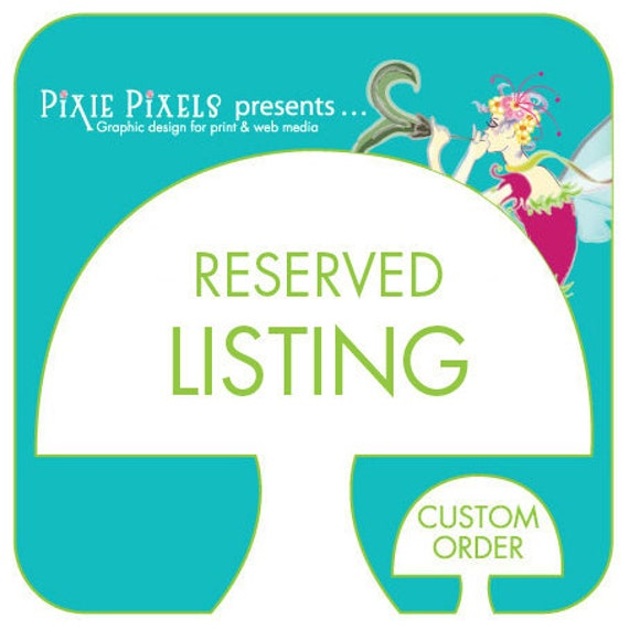 RESERVED ORDER CUSTOM - 2 8x10 prints (as featured)