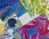 marbled, 2 table tallies, set 8Y