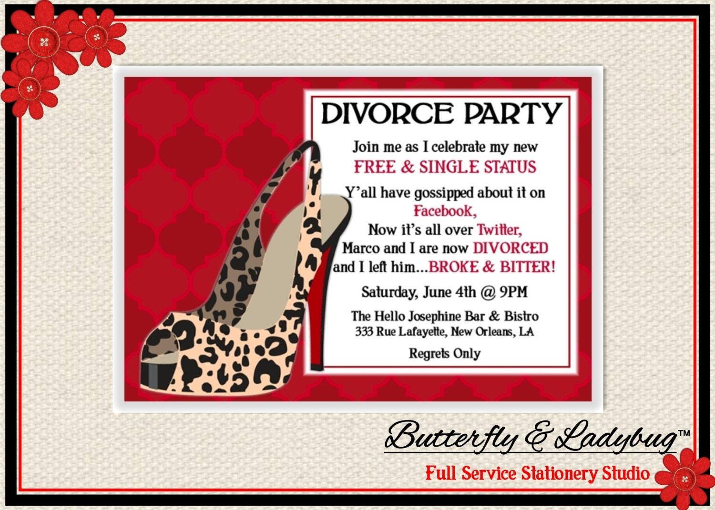 Divorce paper wording?