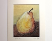 Golden Pear Print with Ivory  Mat 11 x 14