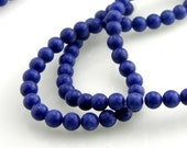 Lapis Bead 4mm Round