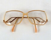 Vintage Eye Glasses Geometric Unusual 1970s Teen Girl Drop Arm Large Irragular Shape Holiday Gift