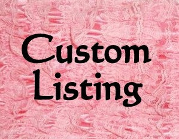 Custom Listing for Abby...2 small buttercreams. Twins
