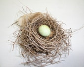 Vintage Bird Nest All Natural Mother Nature Decor