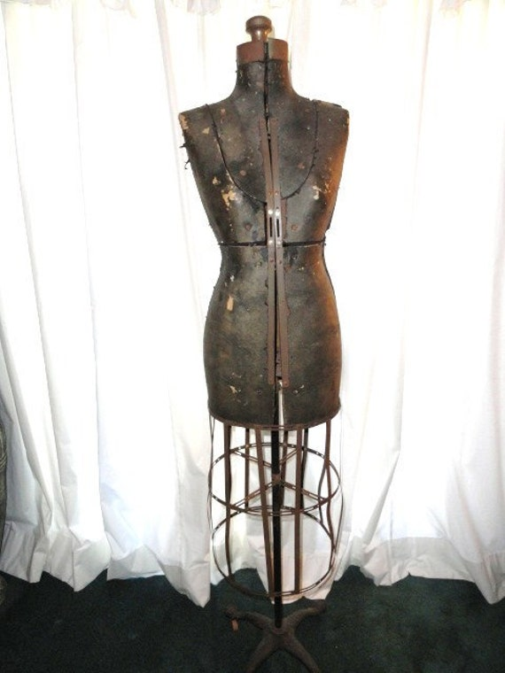Dress Form Metal Cage