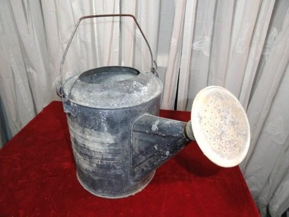 Vintage Galvanized Watering Can Rustic Wedding Decor