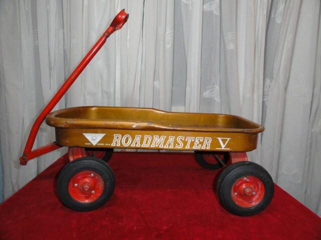 Vintage Wagon Riding Toy Christmas Decor By Bluebonnetfields