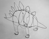 Stegosaurus (Wire Sculpture)