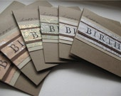 SALE--20 PERCENT OFF select cards-- Happy Sophisticated Birthday Cards-- Set of 6