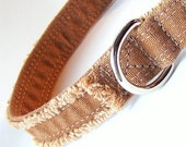 Carhartt Frayed Dog Collar, Tan, Brown, No.77