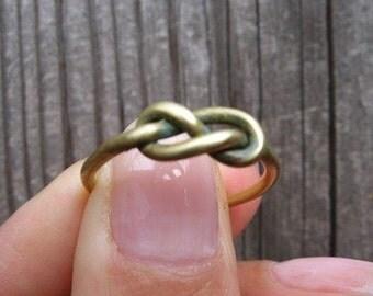 Infinity Ring Tibetan Bronze Knot Ring 888cents 888888888888888888888888888888888