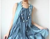 Be cheery with Ocean Blue Dress - LadyTA