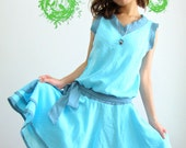 Happy with Simply Blue Dress