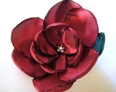 lava magnolia blossom flower brooch Christmas Gift for her under 25