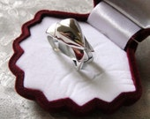 crown of my heart ring for wedding gifts - 925 sterling silver jewelry (OOAK)