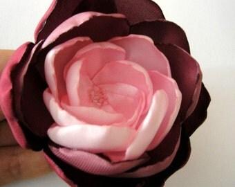 cherry blossom rose wedding sash