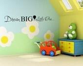 Vinyl Lettering - Dream big little one - 1318