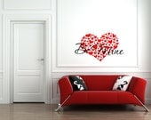 NEW FOR VALENTINES - 1216 - Be Mine in 2 colors with hearts