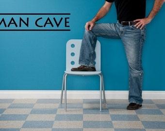 Vinyl Lettering - Man Cave - 1002