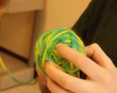 center-pull yarn ball, let me do the work